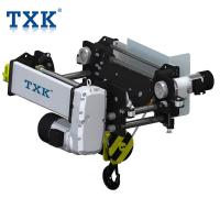 Buy cheap TXK 2 Ton Electric Wire Rope Hoist Bridge Crane Design 3PH AC 380V 50Hz Power from wholesalers