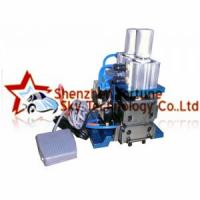 Buy cheap LL-3F Pneumatic Double Blades Wire Stripping Machine For Multicore Cable AWG18-AWG32 from wholesalers