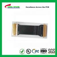 Buy cheap Sillkscreen Flexible PCB Fabrication , Mobile Phone PCB Board Black Solder Mask from wholesalers