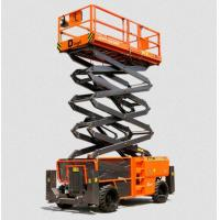Buy cheap Electric Vertical Electric Mobile Scissor Lift / Scaffolding Aerial Lift Work Platform product