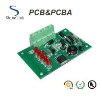Buy cheap Elevator One stop pcba board with components sourcing , 2 OZ PC Board Assembly from wholesalers