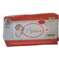 Buy cheap Disinfectant Travel Antibacterial Wet Wipes / Nice And Clean Baby Wipes from wholesalers