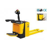 Buy cheap Stand - On Type 2500kg Pallet Jack Forklift With Folding Platform from wholesalers