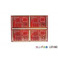Buy cheap 6 Layers High Frequency PCB FR - 4 Material For Communication Power Amplifier product