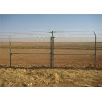 Buy cheap galvanized chain link fence for sale diamond wire mesh from wholesalers