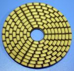 Buy cheap 4 inch angle grinder polishing pads diamond sponge polishing pad from wholesalers