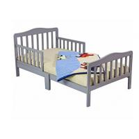 Buy cheap Beautiful Childs Wooden Bed With Two Safety Rails , Childrens Pine Beds Middle Leg from wholesalers