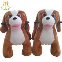 Buy cheap Hansel entertainment outdoor playground plush animal ride on toys for sale from wholesalers