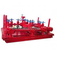 Buy cheap PSL3 Drill Spare Parts Choke Manifold Drilling EE Material Grade 2891 * 2086 * 1150mm from wholesalers
