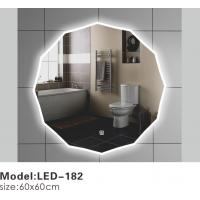 Buy cheap Exotic Touch LED Bathroom Mirrors With Lights Behind , Lighted Bathroom Vanity Wall Mirror from wholesalers