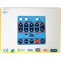 Buy cheap Graphic Membrane Switch Overlays / Panels , RoHS Membrane Labels With 6 Colors from wholesalers
