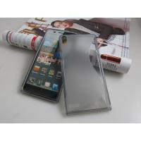 Buy cheap huawei Ascend P6 S LINE silicon tpu gel case cover skin funda capa estuch Hulle Coque from wholesalers