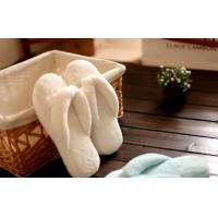 Buy cheap Close toe coral plush hotel  indoor warm Flip flops womens washable slippers S/M/L from wholesalers