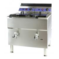 Buy cheap Twin fryer Double deep fryer Gas fryers Industrial deep fat fryer Catering serving equipment China manufacturing product from wholesalers