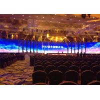Buy cheap Fan Free Design P6mm Stage Rental LED Display High Definition Visual Effect 576*576mm Cabinet from wholesalers