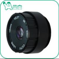 Automatic 1/2.5'' 16MP Manual Iris CS Camera Lens With Ir For Ccd / Cmos Camera