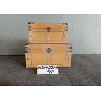 Buy cheap One Lid Durable Plywood Treasure Chest Storage Trunk from wholesalers