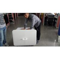 200L accept customized order  plastic material solid style storage crates with lid