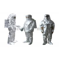 Buy cheap High Temperature Aluminized Fire Proximity Protective Clothing Suit Thermal Insulation from wholesalers