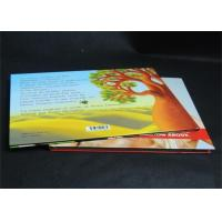 Full Color Glossy Paper Hardcover Book Printing Services , Offset Book Printing