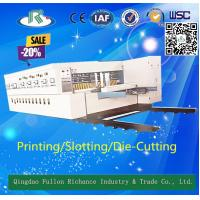 Buy cheap Multicolors Automatic Flexo Color Ink Carton Paper Box Making Machine from wholesalers