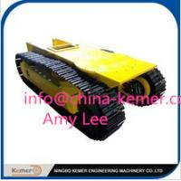 Buy cheap pedrail chassis/pedrail undercarriage/pedrail structure tracks/hydraulic motor and reducer from wholesalers