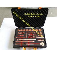 Buy cheap Non-Sparking Socket Set 32 Pcs 1/2 Drive By Copper Berylium FM Certificate from wholesalers