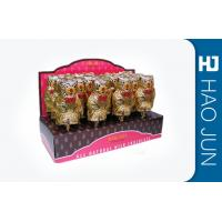 Buy cheap Advertising Cardboard Counter Display Stands PDQ For Lollipops , Full Color from wholesalers