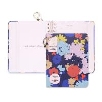 Buy cheap Cute Hardcover Spiral Planner Golden Wire Binding With Stickers / Pocket Folder / Pendant from wholesalers