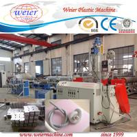 Buy cheap PVC Single Wall Corrugated Pipe Machine , High Temperature Resistance from wholesalers