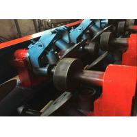 Buy cheap Punching Device U Channel Roll Forming Machine , Galvanized Steel Roll Forming Machine from wholesalers