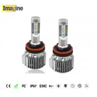 Buy cheap LED car headlight bulbs, Brightest H11 Led Headlight Bulbs 11-30V DC In - Built Drive With No Interference product
