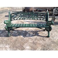 Buy cheap Outdoor Furniture Moose Metal Park Benches , Cast Iron Garden Chairs For Park from wholesalers