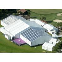 Buy cheap 15m Width Clear Span Aluminum Frame White Used Event Tent With Air Condition System product