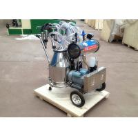 Buy cheap Two Buckets Mobile Milking Machine , Vacuum Pump Dairy Milking Equipment from wholesalers