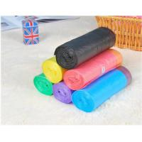 Buy cheap HDPE Packaging Home Garbage Bags , Drawstring Trash Can Liners Customized Size from wholesalers