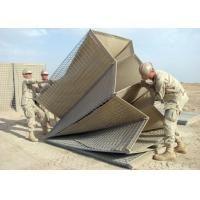 Buy cheap Blast Wall Hesco Bastion Barrier Non - Woven Polypropylene Geotextile Solid Structure from wholesalers