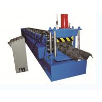 Buy cheap 2 Wave Highway Guardrail Roll Forming Machine 2.7 3.0mm Thick Hydraulic Decoiler from wholesalers