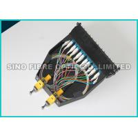Buy cheap Yellow LC - MTP Fiber Optic Cassette 24F Single Mode Fan Out Classic Cassettes from wholesalers