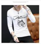 Buy cheap Custom Full Hand Designer Plain Mens Long Sleeve T shirt from wholesalers