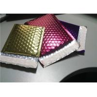 Buy cheap 4 Layers Rose Gold Bubble Mailers , 380x330 #B4 Metallic Glamour Mailers product