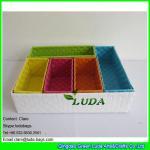 Buy cheap LDKZ-044  Fasion steel frame storage box pp strap woven storage basket for organization from wholesalers