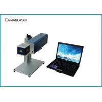 Buy cheap Leather Textile 20w Portable Co2 Laser Marker Machine With Galvo Scanning Head from wholesalers