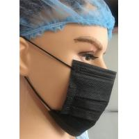 Buy cheap Black Chemical Protective Face Mask Surgical Disposable For Laboratory Pharmacy Use from wholesalers
