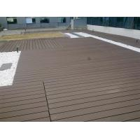 Waterproof WPC Deck Flooring For Garden , Playground And Outdoor Decorative