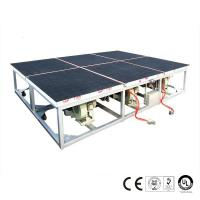 Buy cheap 2600x2000mm Air Float Glass Breaking Table Pneumatic Control System from wholesalers