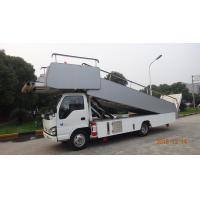 Buy cheap Aviation Aircraft Stairs With Passengers And Cargo 15 Meter Turning Radius product