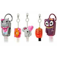 Buy cheap Candy BBW Animal 3D Hand Sanitizer Holder Custom Silicone Products Travel Promotional Gifts from wholesalers