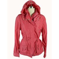 Buy cheap Red Windproof Custom Sport Jackets , Ladies Hooded Padded Jacket product