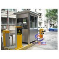 Buy cheap Mobile Portable Prefab sentry box shed used in traffic center from wholesalers